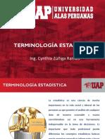 Terminología Estadística 2019 1