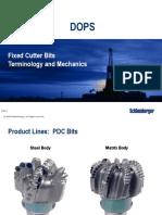 PDC - Terminology and Mechanics