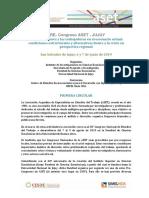 1º Circular Pre Congreso ASET en Jujuy 2019