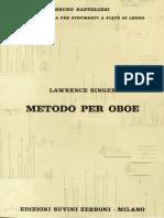 Metodo per oboe - Lawrence Singer.pdf
