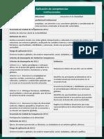 Práctica Solidaria - Aplicación de competencias institucionales