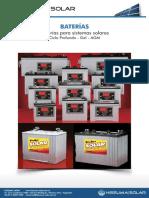 Catalogo Baterias Hissuma