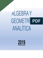Alg y Geometría a - Unidad 1