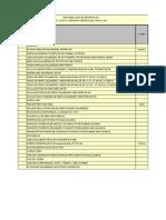 Listado de Materiales Proyecto LAT110 KV