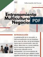 Curso Entrenamiento Multicultural de Negocios