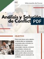 Curso Análisis y Solución de Conflictos