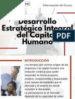 Curso de Desarrollo Estratégico Integral del Capital Humano