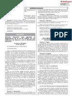 Decreto Supremo Que Aprueba El Reglamento de La Ley n 30826 Decreto Supremo n 001 2019 de 1742739 1