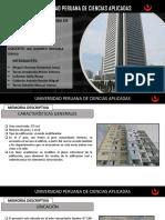 análisis estático y dinámico de una edficación de un piso