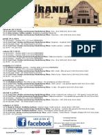 Program Kina Urania 28.3.-3.4.2019