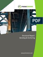 Prime Resins Structural Repair Bonding Anchoring Brochure
