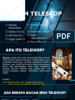 Kelompok 1 Tugas Lkm 2 Sistem Teleskop