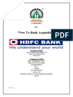 HDFC BANK REPORT