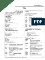 Modul Bimbel Kelas 10 KTSP 10406 Inggris Unit 6