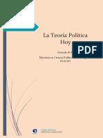 AAVV - La teoría política hoy.pdf