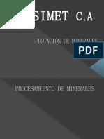 FLOTACIÒN DE MINERALES