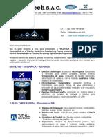 Carta de Presentacion - CASAPALCA - Iflutech SAC 06.03.19