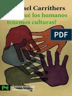 Carrithers, Michael - Por que los humanos tenemos culturas - Ed Alianza.pdf