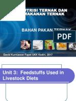 3. BMT-Feedstuffs Clasification