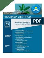 Programa Científico Del Congreso de Logoterapia