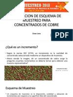SIMULACION DE ESQUEMA DE MUESTREO PARA CONCENTRADOS DE COBRE- Omar Leva.pdf