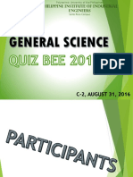 p1 Guidelines, Participants