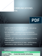 Data Communications Network