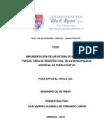 LUIS FERNANDO JUNIOR HUAYAMARES HUAMAN  - SISTEMA DE INFORMACION PARA REGISTRO CIVIL.pdf