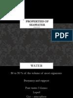 properties of seawater 2019