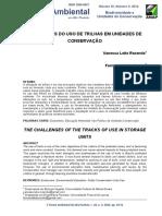 OS DESAFIOS DO USO DE TRILHAS EM UNIDADES DE CONSERVAÇÃO.pdf