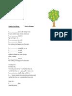 Lemon Tree Song   lyrics present continuous.docx