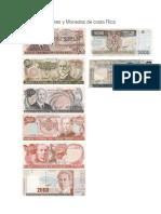 Billetes y Monedas de costa Rica.docx