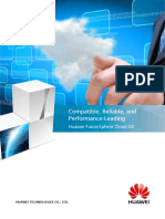 Huawei FusionSphere 5.1 Data Sheet (Server Virtualizaiton)