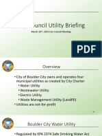BC Utility Overview
