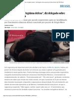 """""""Ele Se Excedeu Na Legítima Defesa"""", Diz Delegado Sobre Segurança Do Extra _ Brasil _ EL PAÍS Brasil"""