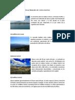 Áreas Naturales de Centro América