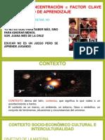 CONTEXTO SOCIO-ECONÓMICO CULTURAL E  INTER-CULTURALIDAD