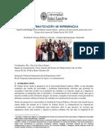 Aportes Metodológicos de Los Talleres Teórico Prácticos de Intervención Profesional