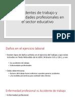 Accidentes de trabajo y Enfermedades profesionales en el.pptx