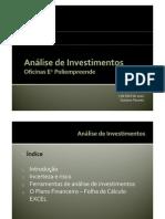 An%E1lise de Investimentos