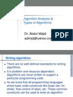 2. Algorithm Analysis & Types of Algorithms.ppt