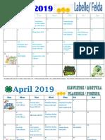 2019.aprilcalendar