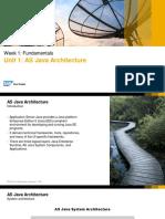 SAP Netweaver 7.5 AS JAVA Architecture