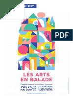 Dossier de Presse Les Arts en Balade 2019