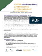 bsec grant application fy19