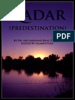Qadar (Predestination)