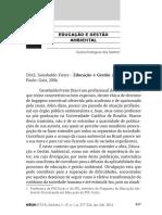 Resenha do Livro Educação Ambiental