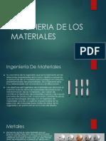 Ingenieria de Los Materiales