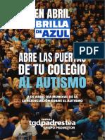 Brochure Dia Azul Colegios 2019