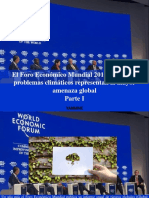 Yammine - El Foro Económico Mundial 2019 Alerta, Los Problemas Climáticos Representan La Mayor AmenazaGlobal, Parte I